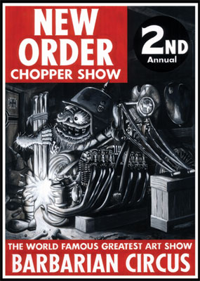 NEW ORDER CHOPPER SHOW 2nd 2007